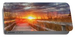 Sunset Walk Portable Battery Charger
