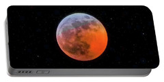 Super Blood Moon Eclipse 2019 Portable Battery Charger