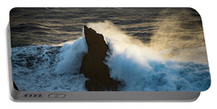 Surf At Sunset Portable Battery Charger