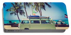 Surfer Van Portable Battery Charger