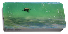 Surfing Turtle Portable Battery Charger