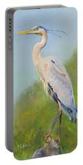 Surveyor - Great Blue Heron Portable Battery Charger