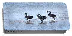 Swans On Parade Portable Battery Charger