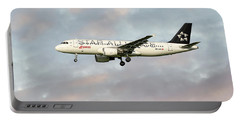 Swiss Star Alliance Livery Airbus A320-214 Portable Battery Charger