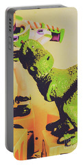 T-rex Toy Portable Battery Charger