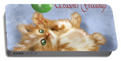 Tabby Greetings Portable Battery Charger