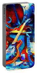 Portable Battery Charger featuring the digital art Taking A Break by Pennie McCracken