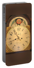 Tall Case Clock Face, Around 1816 Portable Battery Charger