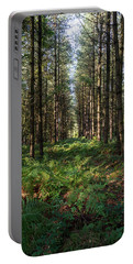 Tall Trees In Sherwood Forest Portable Battery Charger