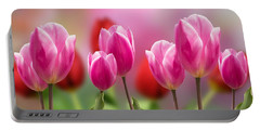 Tall Tulips Portable Battery Charger
