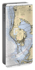 Tampa Bay And St. Joseph Sound Noaa Chart 11412 Portable Battery Charger