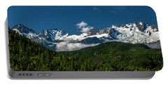 Portable Battery Charger featuring the photograph Tantalus Mountain Range by Jon Burch Photography