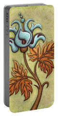 Tapestry Flower 2 Portable Battery Charger