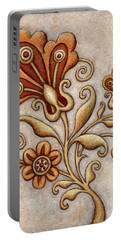 Tapestry Flower 3 Portable Battery Charger