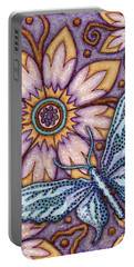 Tapestry Butterfly Portable Battery Charger