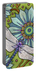 Tapestry Dragonfly Portable Battery Charger