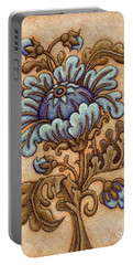 Tapestry Flower 5 Portable Battery Charger