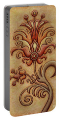 Tapestry Flower 7 Portable Battery Charger