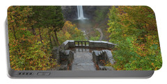Portable Battery Charger featuring the photograph Taughannock Falls by Dan Sproul