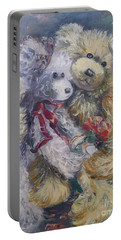 Teddy Bear Honeymooon Portable Battery Charger