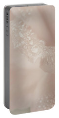 Tenderly Watered Rose Portable Battery Charger
