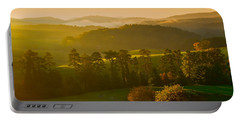 Smokey Mountain Sunrise Portable Battery Charger