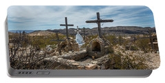 Terlingua Cemetery Portable Battery Charger
