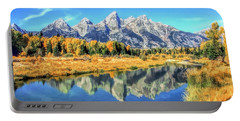 Grand Teton National Park Mountain Reflections Portable Battery Charger