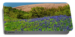 Texas Bluebonnets And Enchanted Rock 2016 Portable Battery Charger