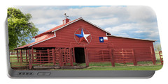Texas Red Barn Portable Battery Charger