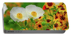 Texas Wildflowers Portable Battery Charger