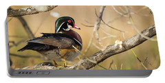 Texas Wood Duck Portable Battery Charger