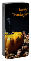 Thanksgiving Dinner Invitation Card. Portable Battery Charger