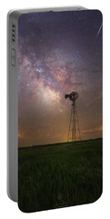 Portable Battery Charger featuring the photograph That's My Kind Of Night  by Aaron J Groen