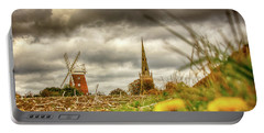 Thaxted Windmill And Church Portable Battery Charger