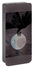 Portable Battery Charger featuring the digital art The Abduction Of The Moon by Attila Meszlenyi