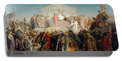 The Age Of Augustus And The Birth Of Jesus Christ Portable Battery Charger