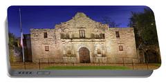 The Alamo - San Antonio Mission - Texas Portable Battery Charger