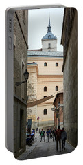 The Alcazar Of Toledo - Spain Portable Battery Charger