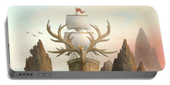 The Antlered Ship Portable Battery Charger