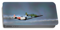 The Battle For Air Supremacy - World War II - Wwii Portable Battery Charger