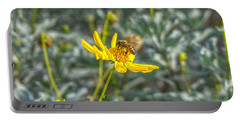 The Bee The Flower Portable Battery Charger