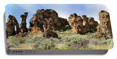 Arches Hoodoos And Castles The Big Picture Little City Of Rocks Portable Battery Charger