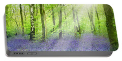 The Bluebell Woods Portable Battery Charger