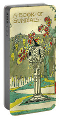 Cover Design For The Book Of Old Sundials Portable Battery Charger
