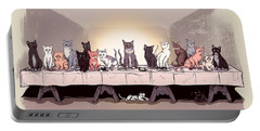 The Cat Supper Portable Battery Charger