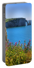 The Cliffs Of Etretat Portable Battery Charger