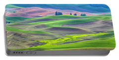 The Color Palette Of The Palouse Portable Battery Charger
