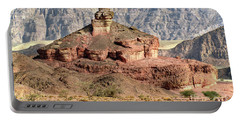 The Colored Bolt Hill At Sunrise Portable Battery Charger