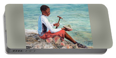 The Conch Boy Portable Battery Charger